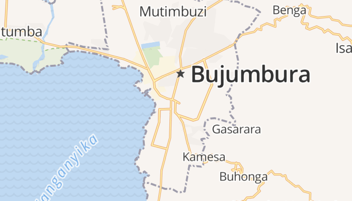 Bujumbura online kaart