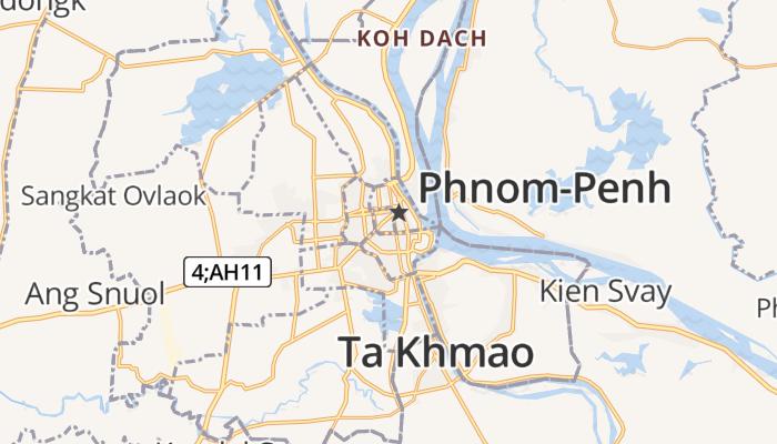 Phnom-Penh online kaart