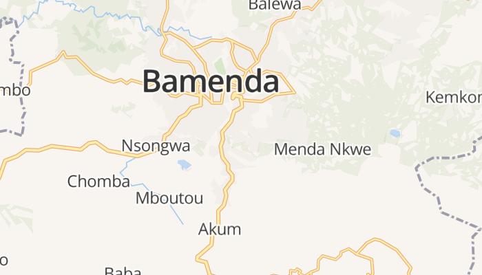 Bamenda online kaart