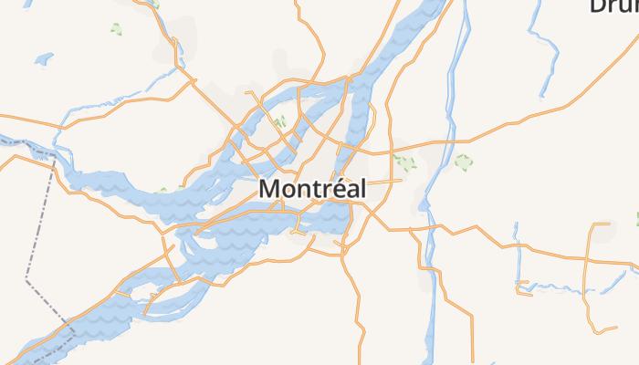 Montréal online kaart