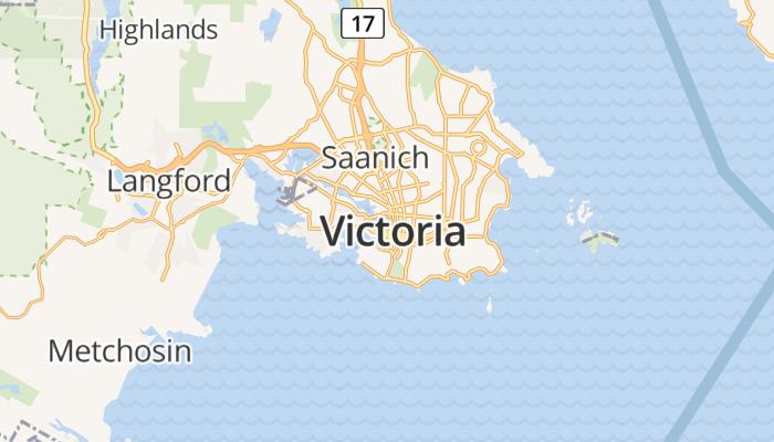 Victoria online kaart