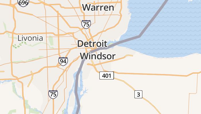 Windsor online kaart