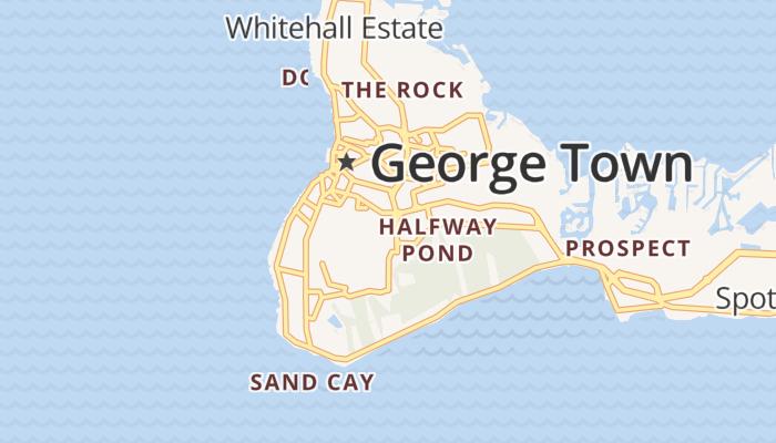 Georgetown online kaart