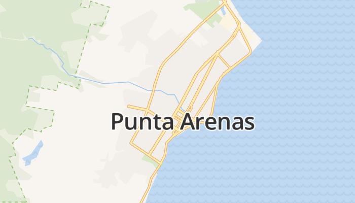 Punta Arenas online kaart