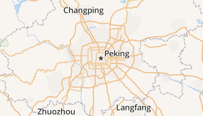 Peking online kaart