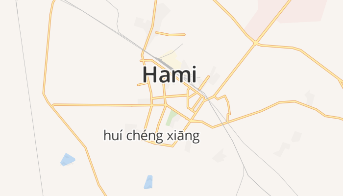 Hami online kaart