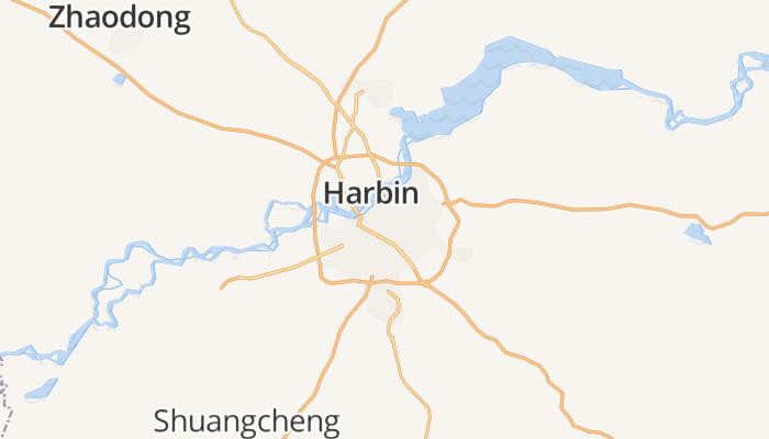 Harbin online kaart