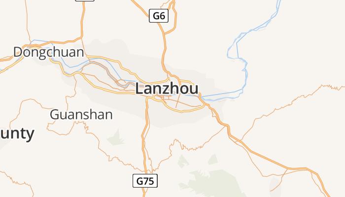Lanzhou online kaart