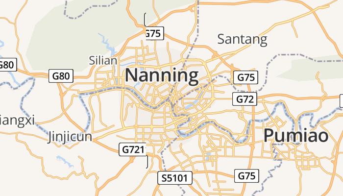 Nanning online kaart