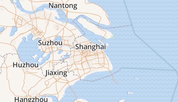 Sjanghai online kaart
