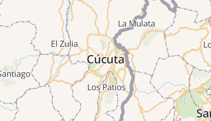 Cúcuta online kaart