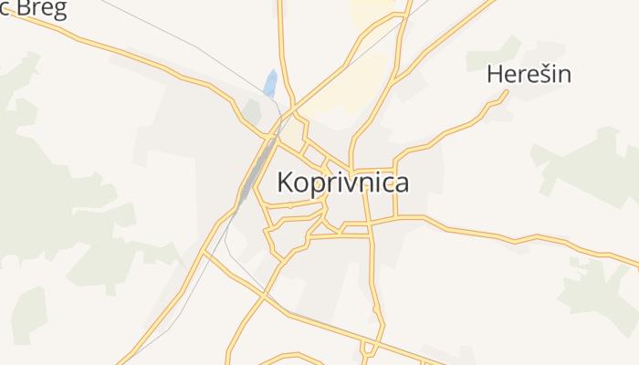 Koprivnica online kaart