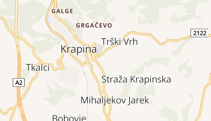 Krapina online kaart