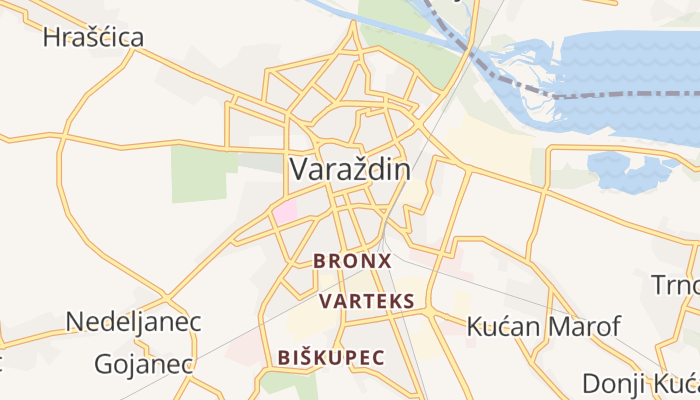 Varaždin online kaart