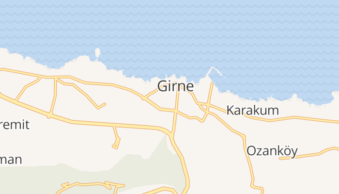 Kyrenia online kaart