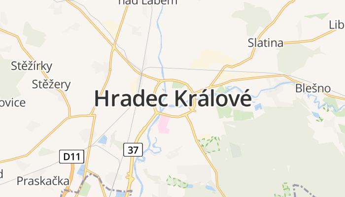 Hradec Králové online kaart