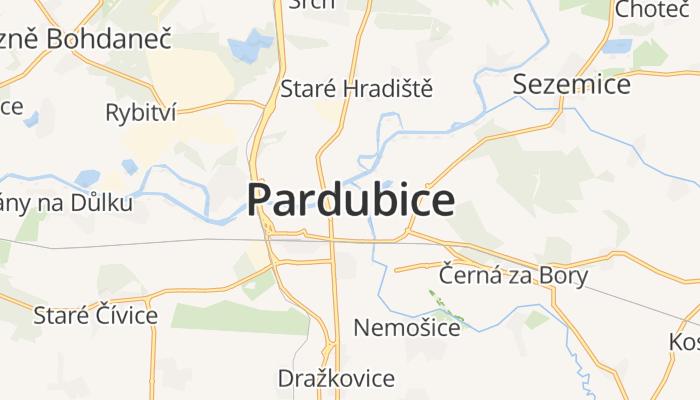 Pardubice online kaart