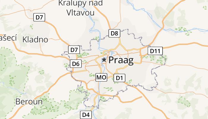 Praag online kaart