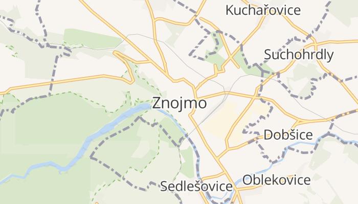 Znojmo online kaart