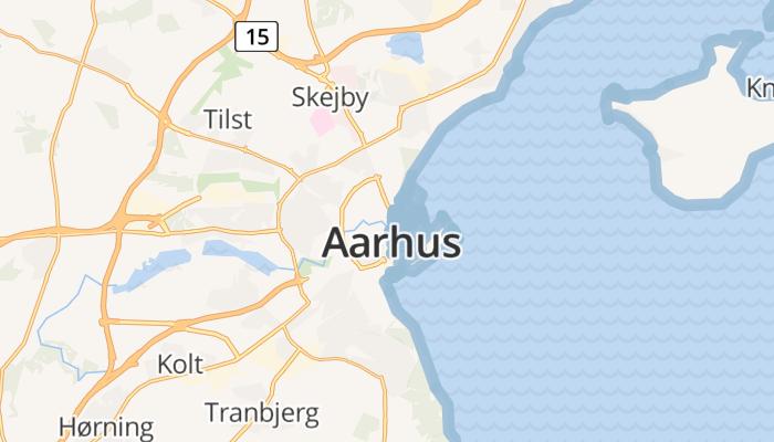 Århus online kaart