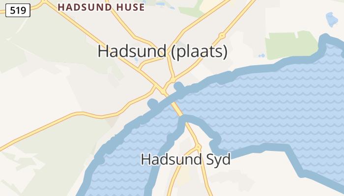Hadsund online kaart