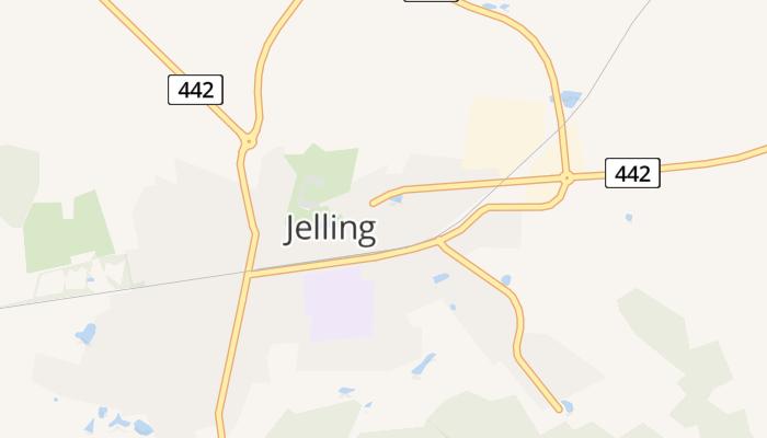 Jelling online kaart