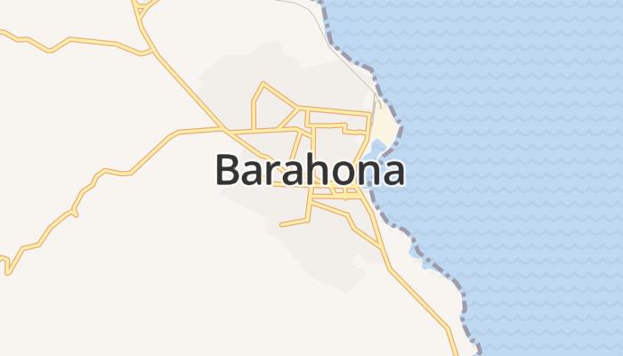 Barahona online kaart