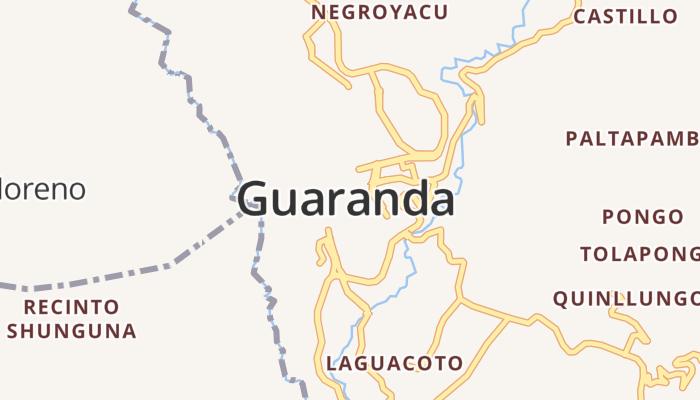 Guaranda online kaart