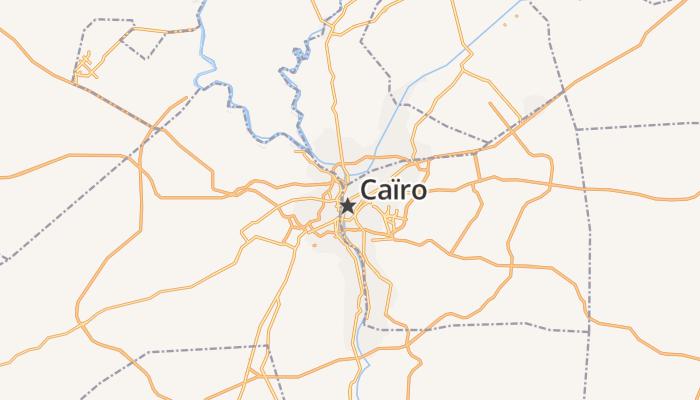 Caïro online kaart