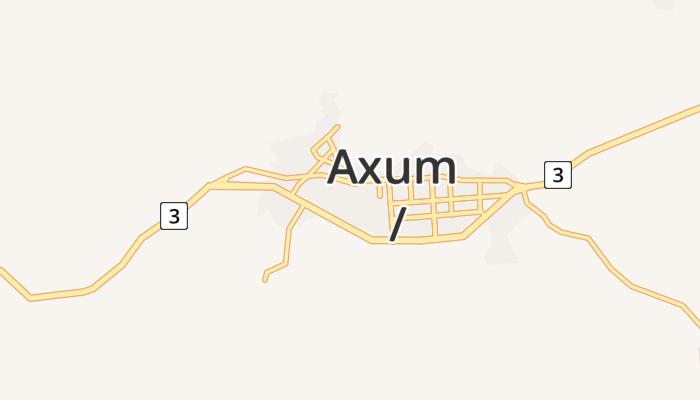 Aksum online kaart