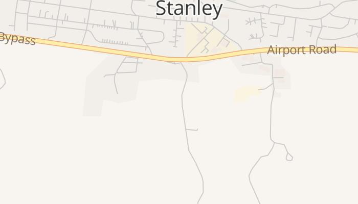 Port Stanley online kaart