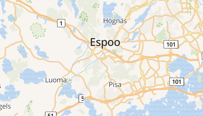 Espoo online kaart