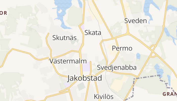 Jakobstad online kaart