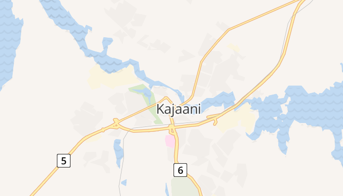 Kajaani online kaart
