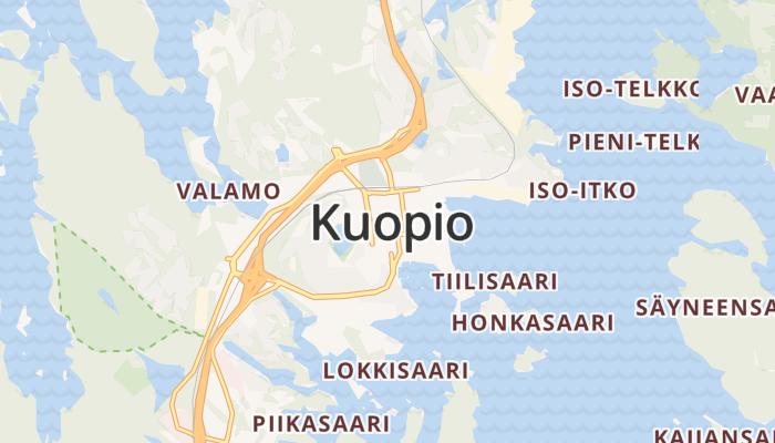 Kuopio online kaart