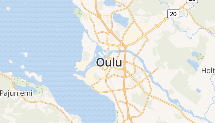 Oulu online kaart