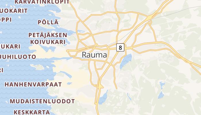 Rauma online kaart