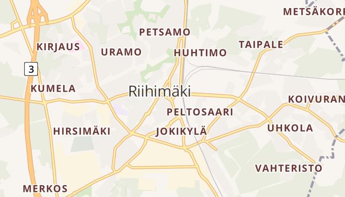 Riihimäki online kaart