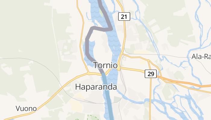 Tornio online kaart