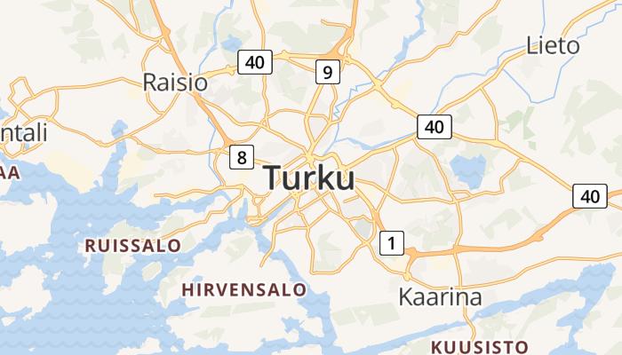 Turku online kaart