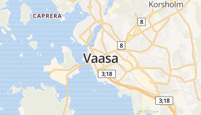 Vaasa online kaart