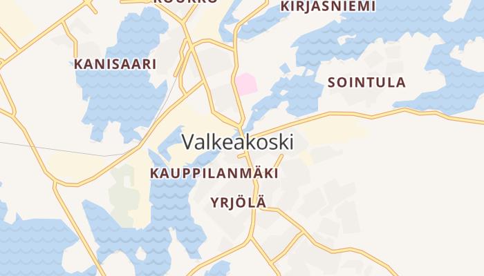 Valkeakoski online kaart