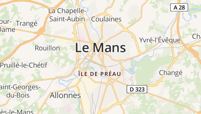 Le Mans online kaart