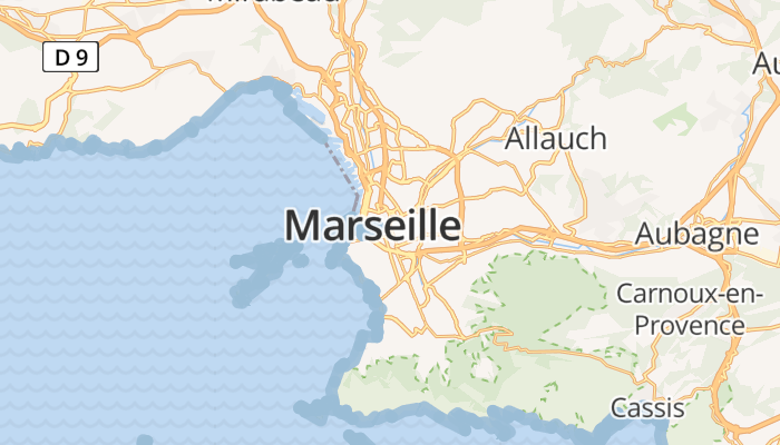 Marseille online kaart