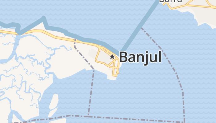 Banjul online kaart