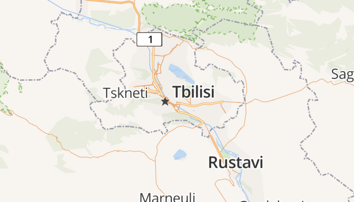 Tbilisi online kaart
