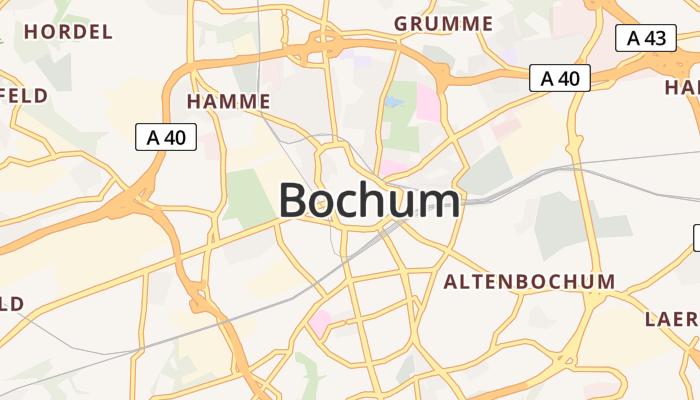 Bochum online kaart