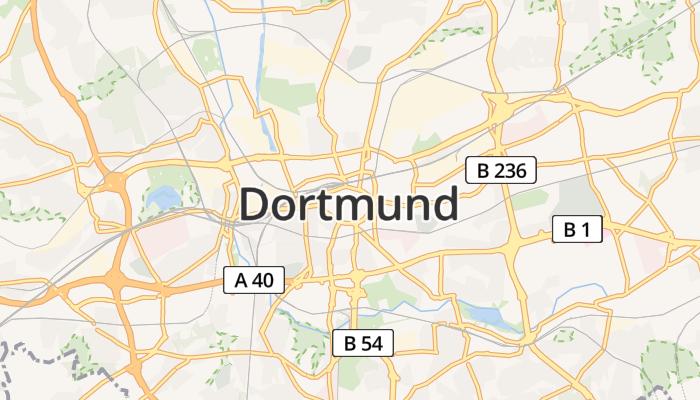 Dortmund online kaart
