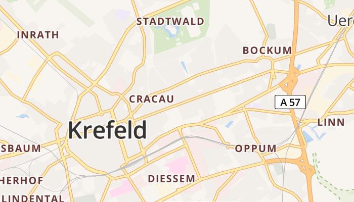 Krefeld online kaart