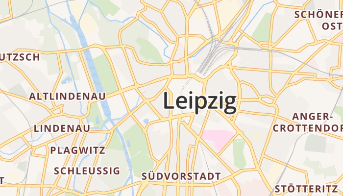 Leipzig online kaart